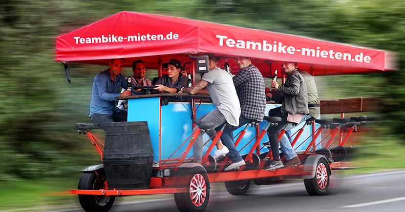 Bierbike in Düsseldorf